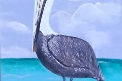 Pelican on Pole 15 x 30 $150