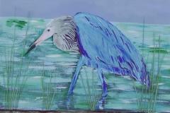 blue heron 20 x 16   $200