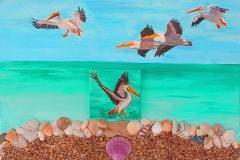 pelican fly by3  24  x   18     $250