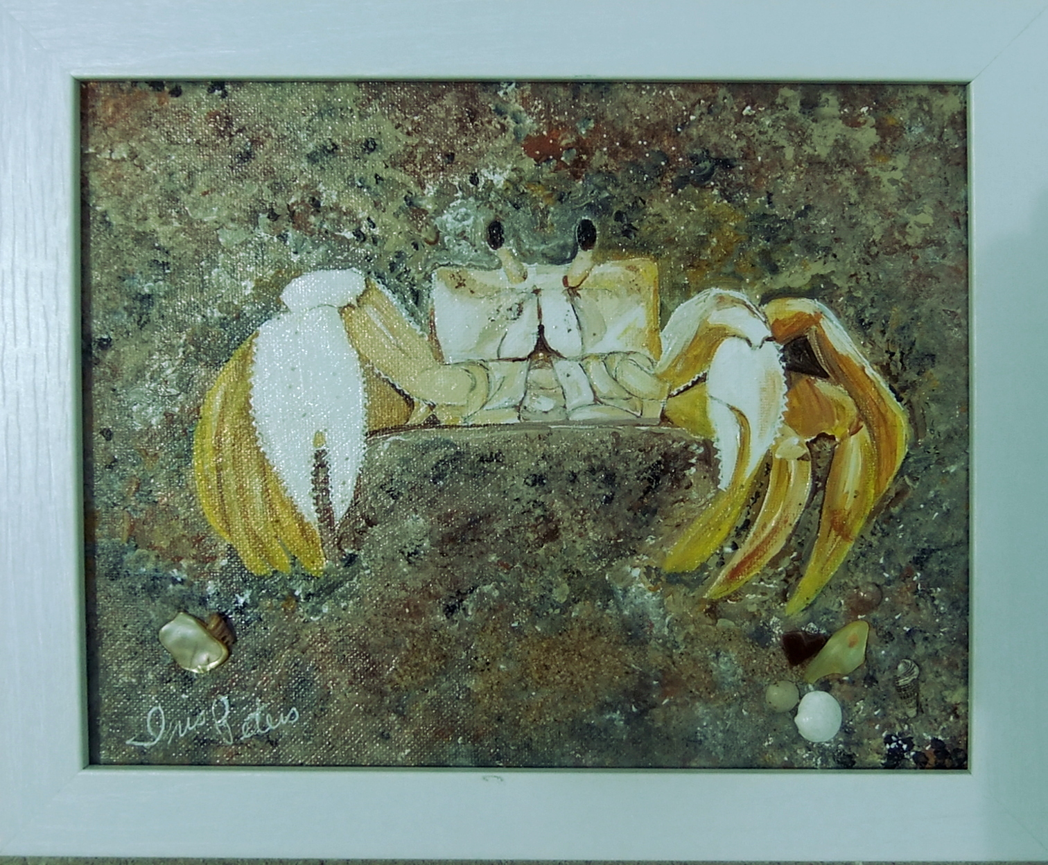 ghost crab    10 x 8     $60