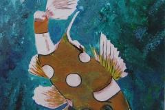 Beautiful Fish 11 x 14       $75