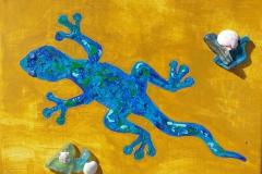 Gecko 12 x 9     $50