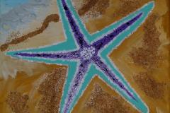 Starfish on Sand 9 x 12  $50