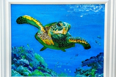 small turtle     10 x 8  $60