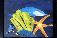 Dolphin-and-Starfish-framed-12-x-9-1