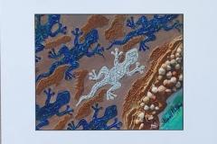 gecko print      total size 14 x 11  $25